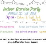 Garden Party Save the Date