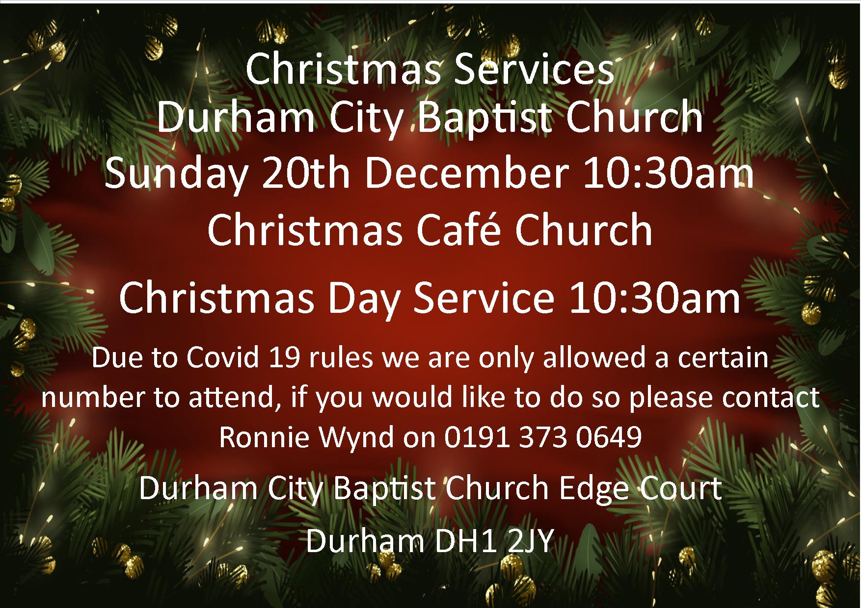 Christmas services facebook ed 2